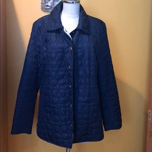 Coach quilted jacket
